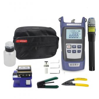 Perfect Fiber Fusion Splicing Tool Kit